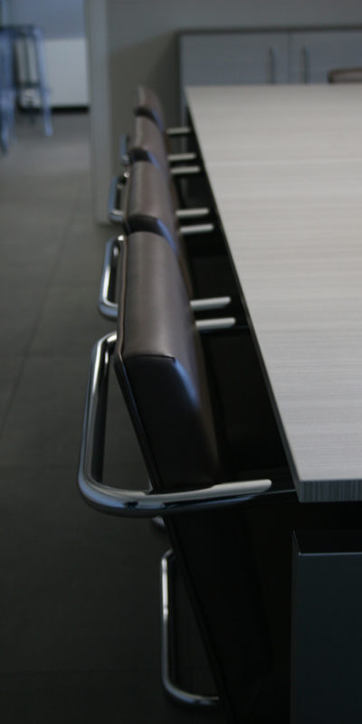 Meeting room close up